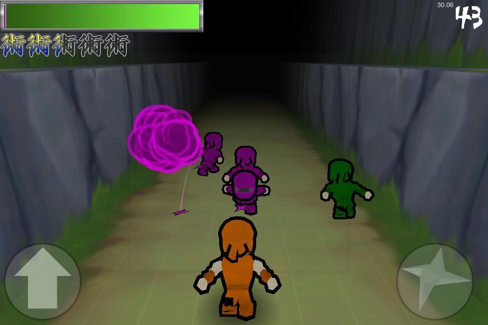 Running With Ninjas screenshot01